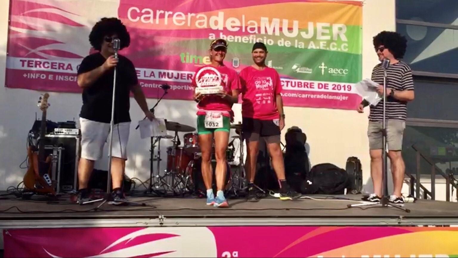 Alessia Bertolino, madrina de la carrera de la mujer de Motril 2019.